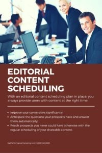 Discover the Benefits of Editorial Content Scheduling