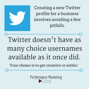 Understand Your Twitter Profile Options
