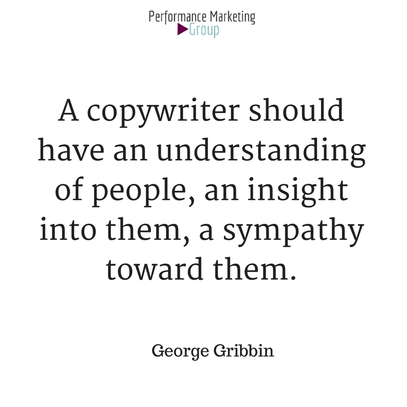 A Skilled Copywriter Writes from the Client's Perspective