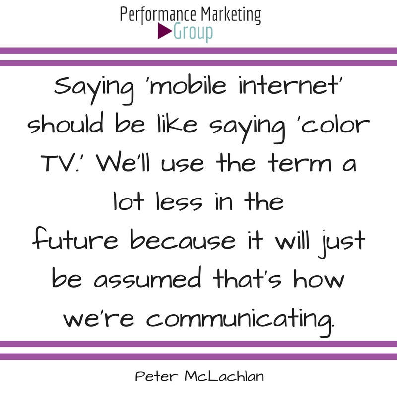 Mobile Internet Is the Present and Future