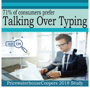 People Prefer Talking Over Typing