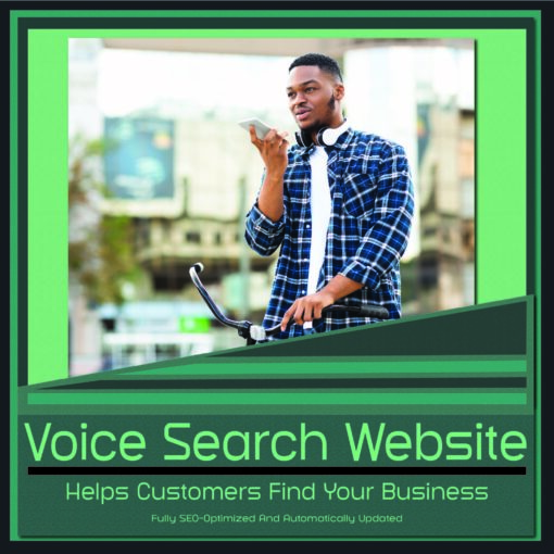 Voice Search Website