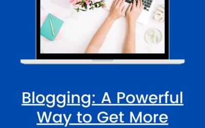 Blogging: A Powerful Way to Get More Exposure